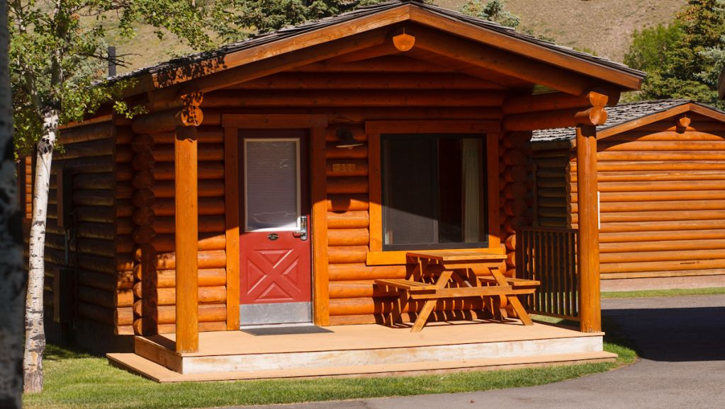 Cowboy village resort cabin