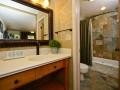 Courtyard king vanity and bath