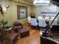 Penthouse unit living room