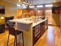 Penthouse unit kitchen