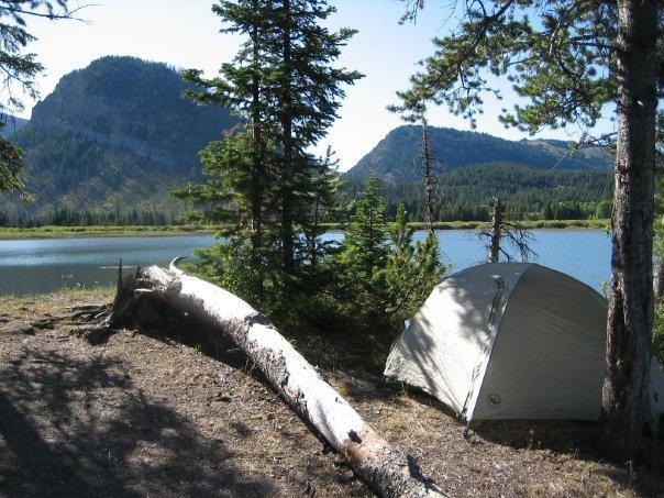 Island Park Campground Tetons