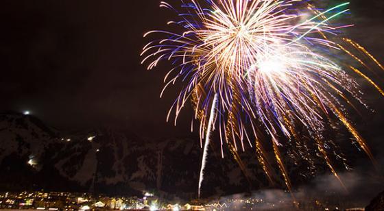 Fireworks eventhero